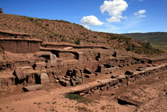 Bolivia - The ruins at Tiwanaku or Tiahuanaco depending on which tribe you listen to