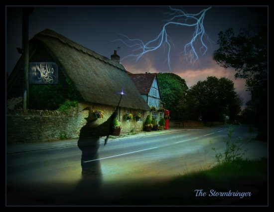 Villagewizardstorm digital art