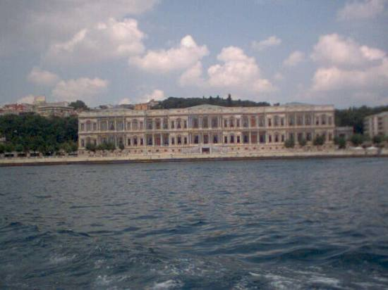 Ciragan palace in Istanbul (taken with t300 camera)