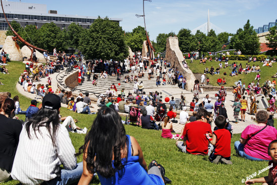 canadaday celebration nationalholiday canada winnipeg theforks aboriginal