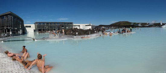 e620 summer sun bathing geothermal blue lagoon Iceland