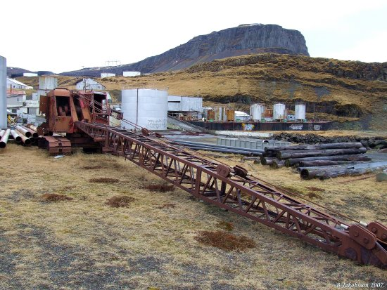 Rust Rusty Machinery Iceland