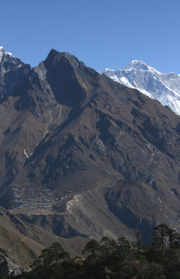 Mt Everest everest syangboche Nepal everest view