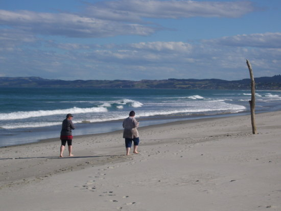 Blackhead Beach Dunedin Ocean Sunshine Laughter Weesue