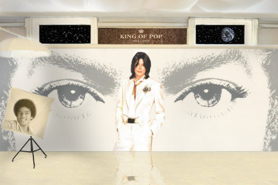 Maju Michael Jackson earth global king pop