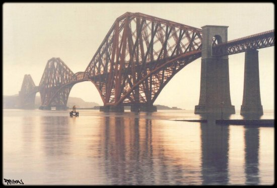 Forth Bridge My lovely place The end