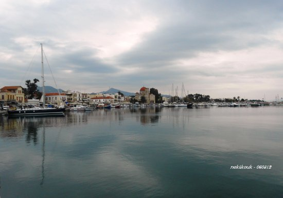 Aegina Greece Hellas Calm Port FOTOHINGERS