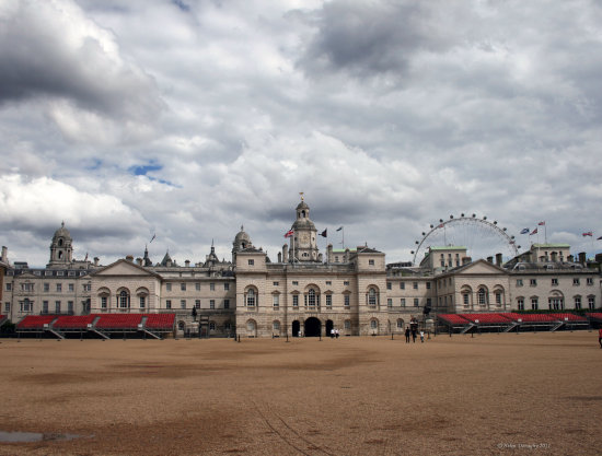 The Household cavalry Horse Guards London