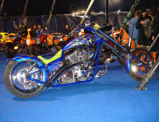 bulldog bash bike motorcycle chop chopper