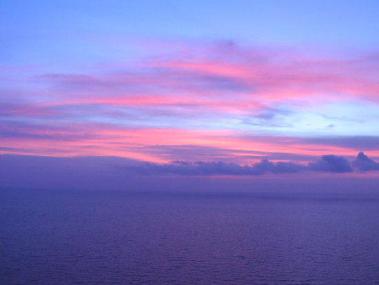 sky colors on Elba Island (made with a videocamera)