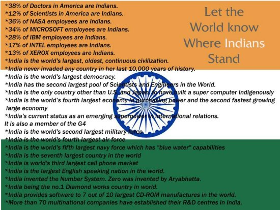 india indians proved to be indian