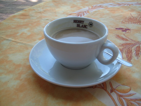 7. At 2 euros 50 in the hotel for this miserable-sized cup of coffee, the money wasn't going to s...