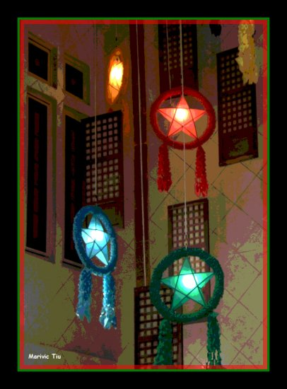 Christmaslanterns capizshellwindows philippines