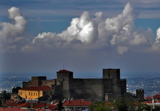 The YediKule cloudy
