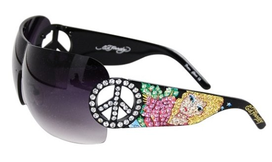 ed hardy pin up sunglasses