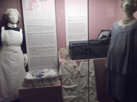 York museum display nursing
