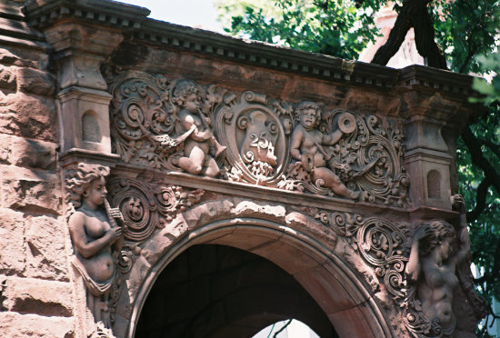 ornamental decoration relief