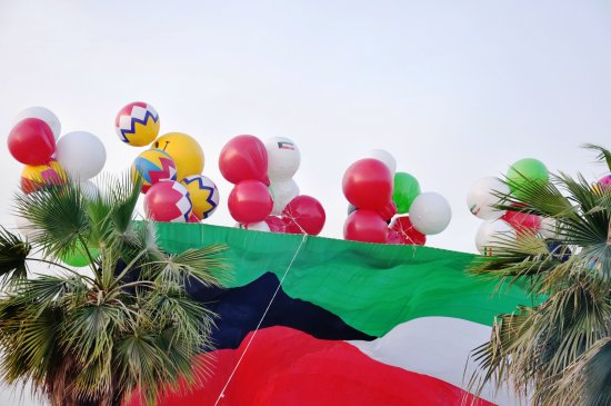 kuwait flag celebrations nikon d90