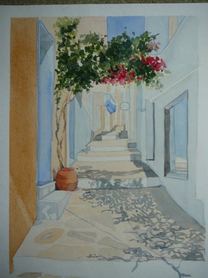 watercolour street