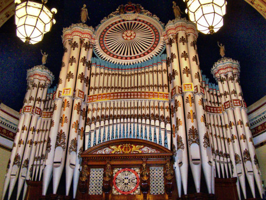 Organ Leeds Town Hall