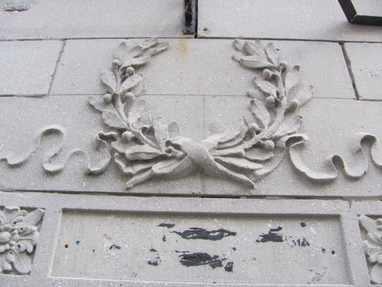An old stone reef above a door.  I thought the design was interesting.  Wondering what to edit to...