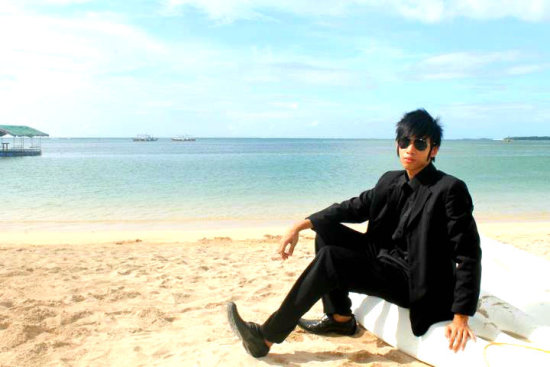 Tj Cruz Timothy John Cruz Bolinao Beach Philippines Formal Wear