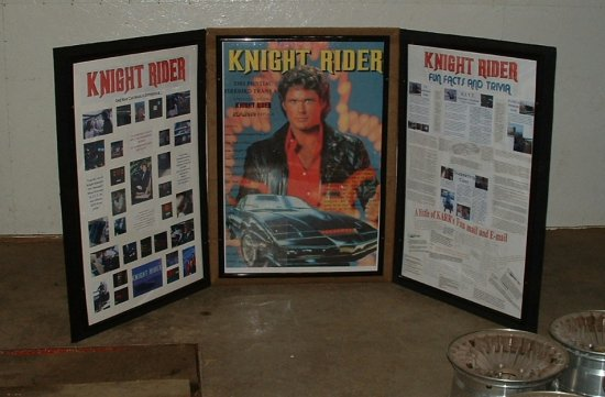 knight poster display front