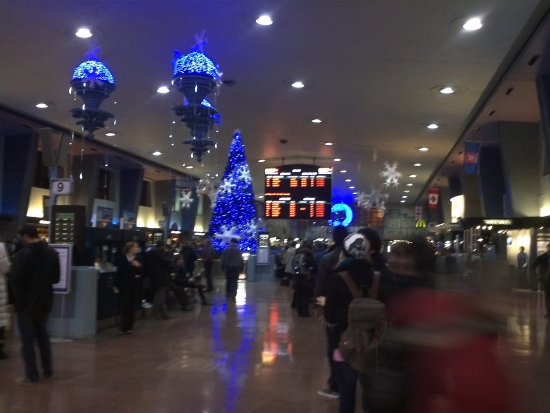 Montreal Via Rail Train Station-Montreal,Quebec-On Friday,Dec.14,2012