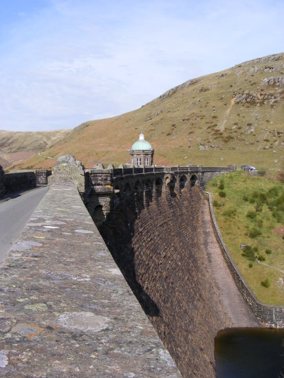 Elan Valley Radnorshire Wales UK