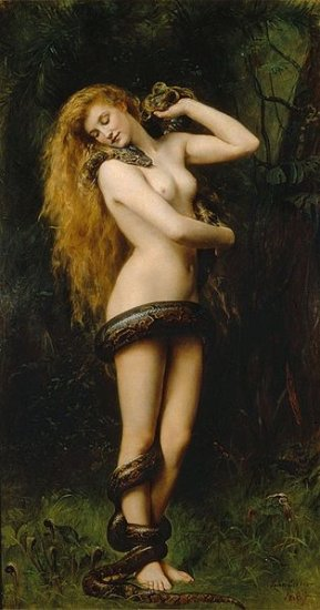 Lilith . What a Woman what a Creature - serpent