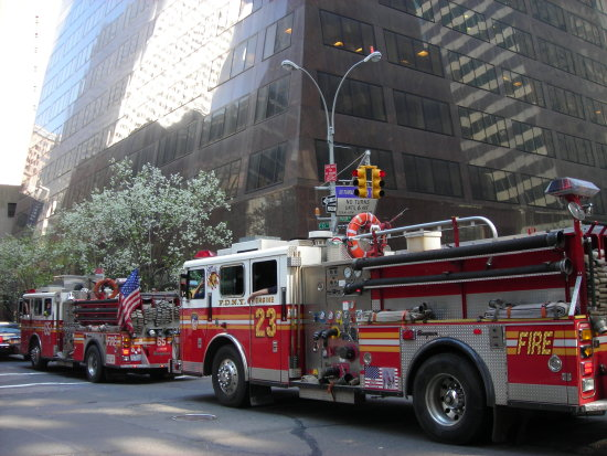 Les pompiers de New York city