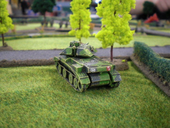 ww2 miniature wargaming model tank