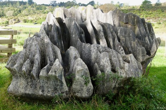 limestone rock nature