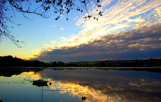 reflection river torridge bideford