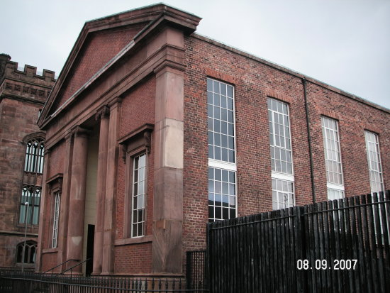 Liverpool former Strick and Particular Baptist Chapel
