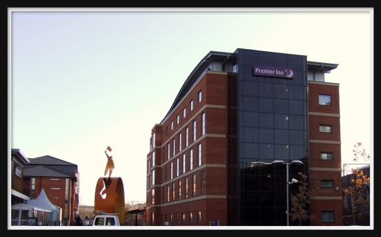 wolverhampton City Centre Premier Inn December 2011 Rob Hickey