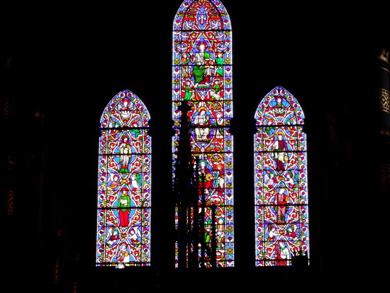 Worcester Cathedral window