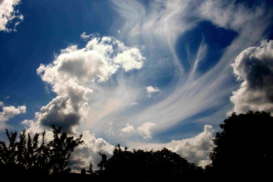 cloud forms windswept