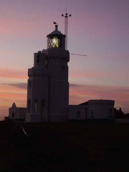 St. Catherine's lighthouse, Isle of wight.  Where I work as a volunteer guide.