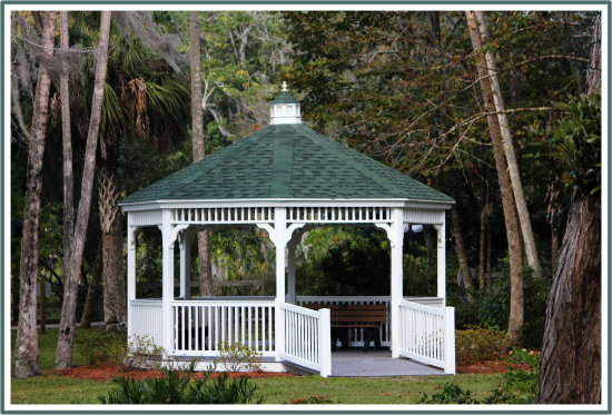 gazebo nature park florida