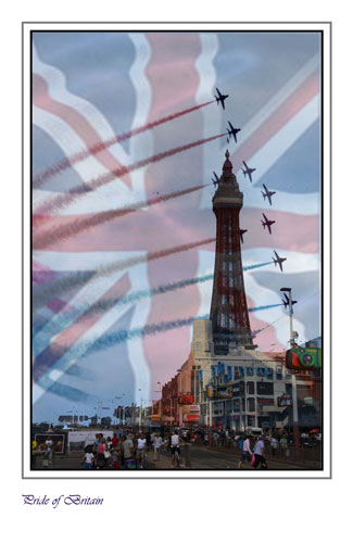 Pride of Britain...Red Arrows at Blackpool
