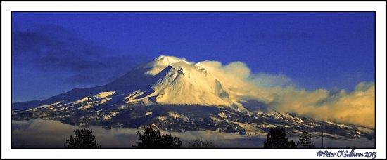 Shasta Mountian Oregon California USA
