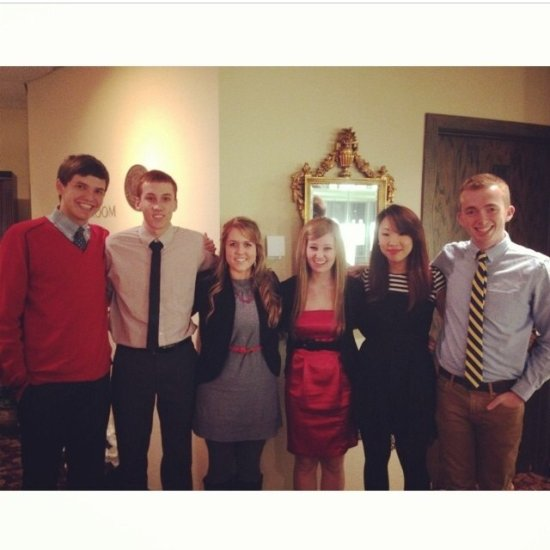 Cody Deffendall Freshman Class Council Dinner with the Bowlings