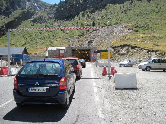 France Pyrenees Mountains Landscape Tunnel