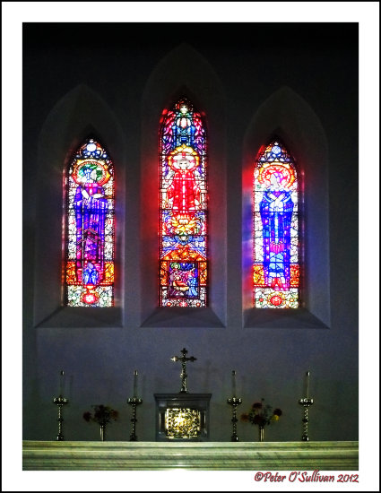 churchsunday Harry Clarke Window Stained Glass Kerry Ireland
