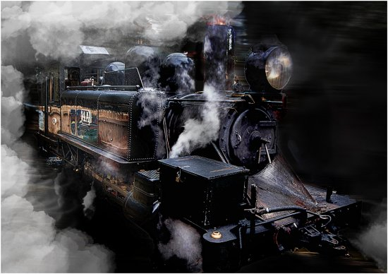 train transport steam australia