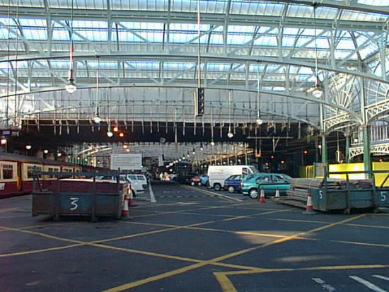 Digital pictures form my photo vault from 1999. This is the Glasgow Central Station being renovat...