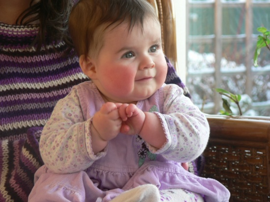 My Grand -daughter Catriona Rose  I am totally biased of course but......................
