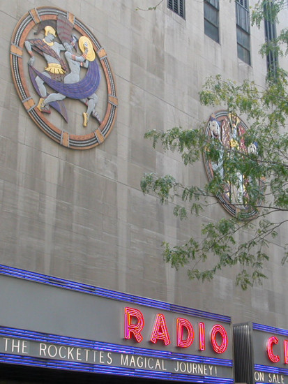 newyorkcity radiocity theater theatre sign signfph nyc2011fph
