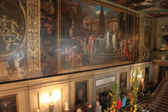 england chatsworth architecture paintings